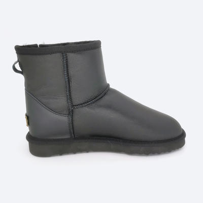 fast delivery waterproof sheepskin boots for lady