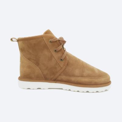 Tianjiao easy care sheepskin boots for men