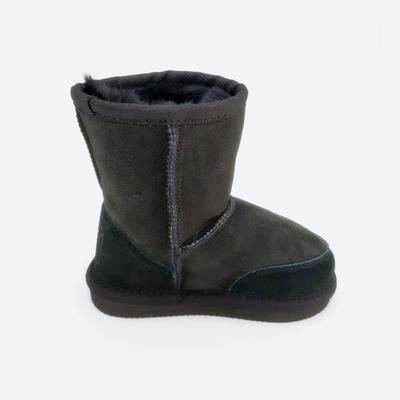 skid resistance baby sheepskin boots