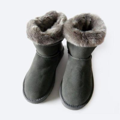 waterproof womens suede winter boots